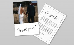 006 Stunning Thank You Card Template Wedding Image  Free Printable Publisher