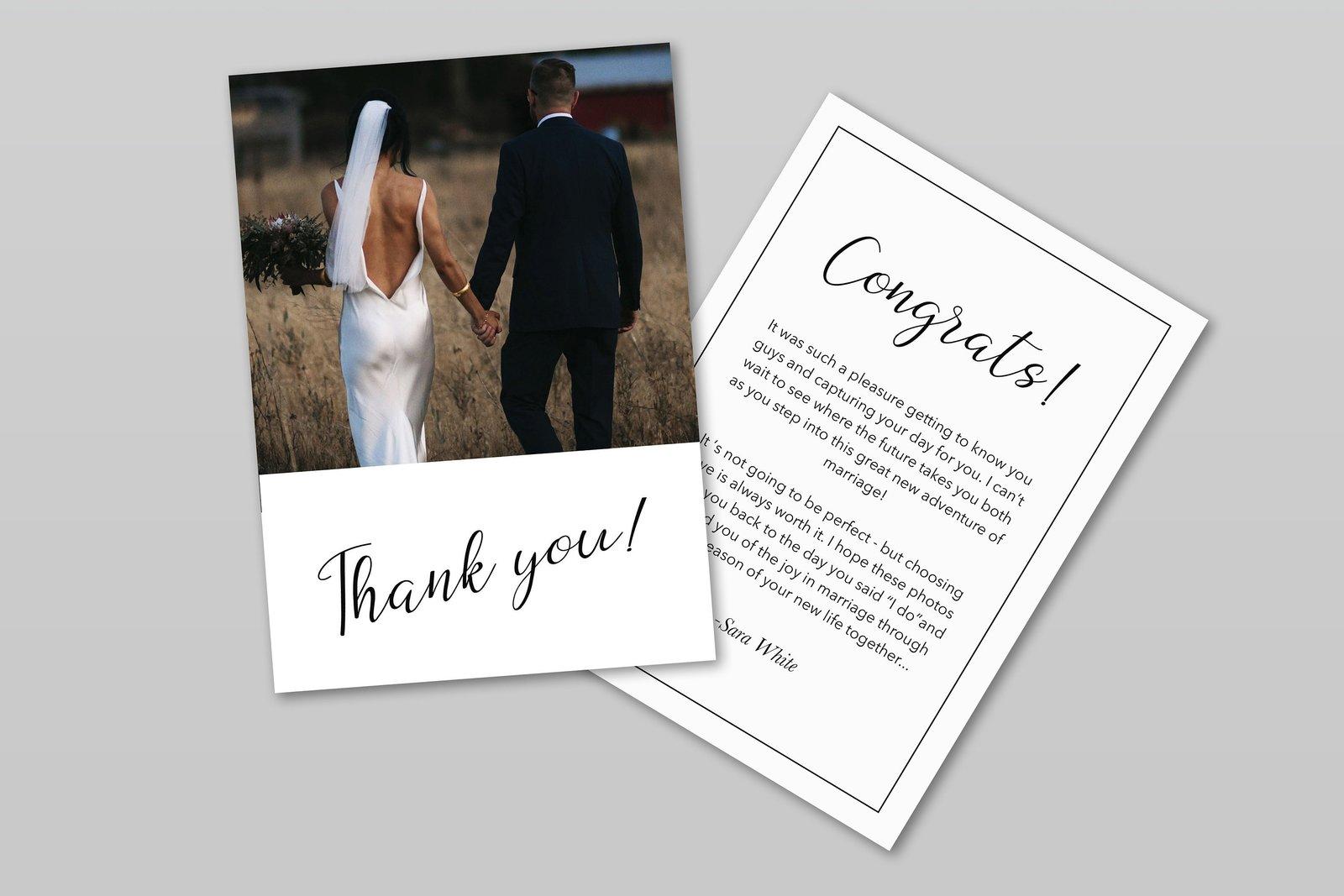 006 Stunning Thank You Card Template Wedding Image  Free Printable PublisherFull