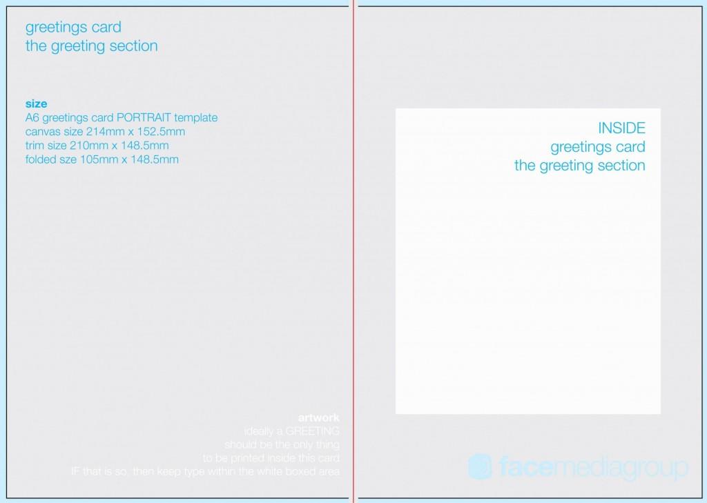 006 Stupendou Birthday Card Template Photoshop Design  Greeting Format 4x6 FreeLarge