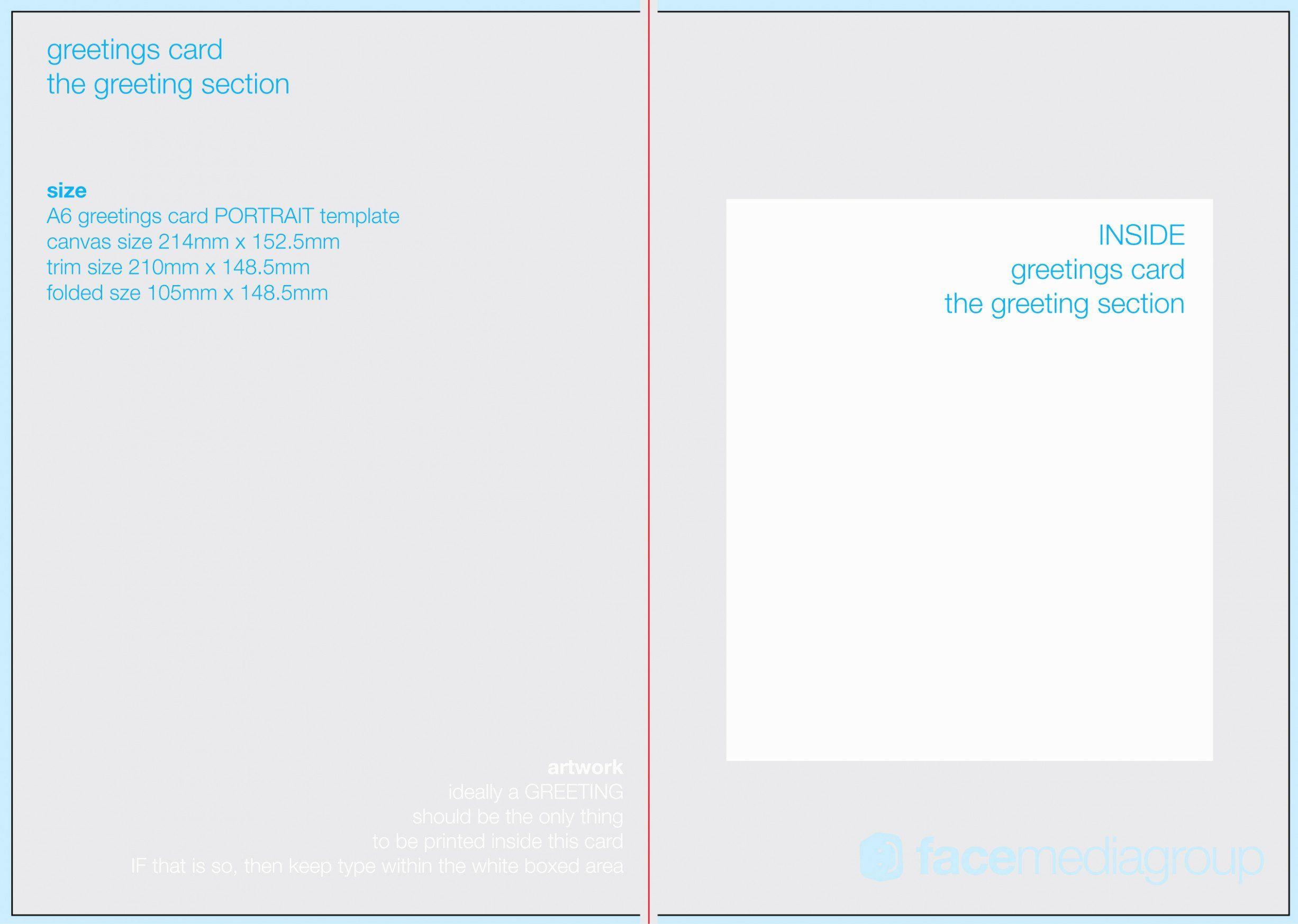 006 Stupendou Birthday Card Template Photoshop Design  Greeting Format 4x6 FreeFull