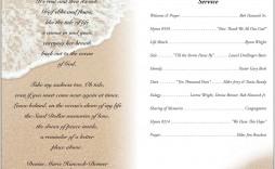 006 Stupendou Catholic Funeral Program Template Idea  Mas Layout Free