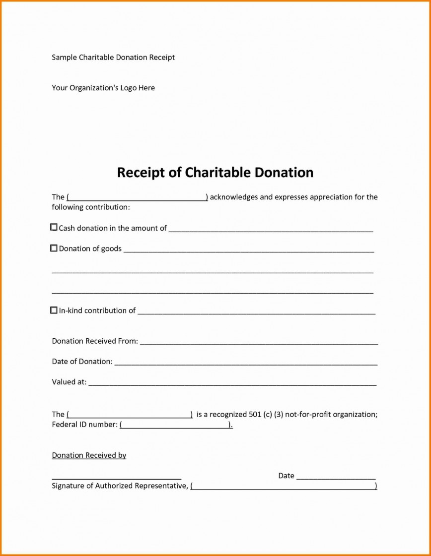 006 Stupendou Charitable Donation Receipt Template Photo  Canadian Tax Sample Word