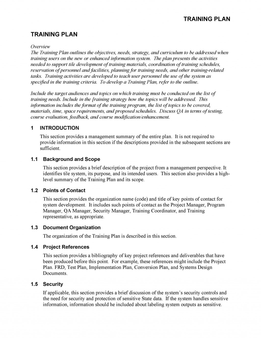 006 Stupendou Employee Training Manual Template Image  New Hire ExampleLarge