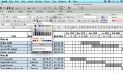 006 Stupendou Excel Work Planner Template Sample  Microsoft Monthly Schedule Plan Scheduling