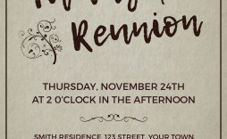 006 Stupendou Family Reunion Invitation Template Free High Def  For Word Online
