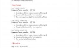 006 Stupendou Free Printable Resume Template Australia Photo