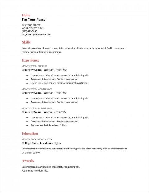 006 Stupendou Free Printable Resume Template Australia Photo 480