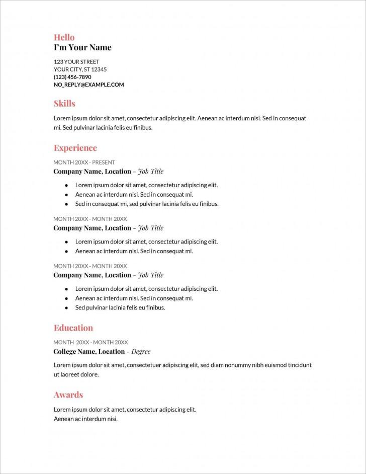 006 Stupendou Free Printable Resume Template Australia Photo 728