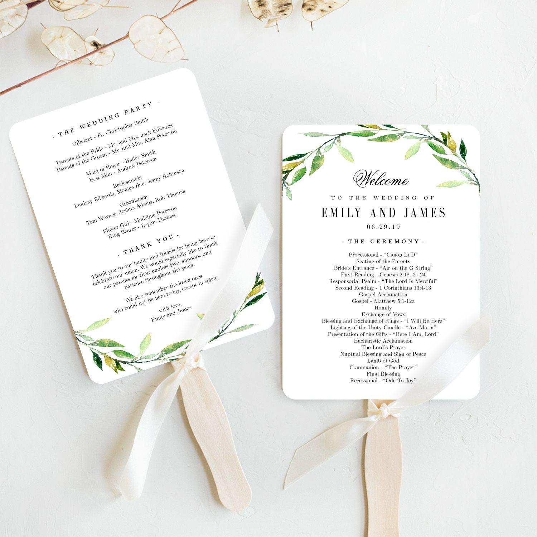 006 Stupendou Free Wedding Program Fan Template Concept  Templates Printable Paddle WordFull