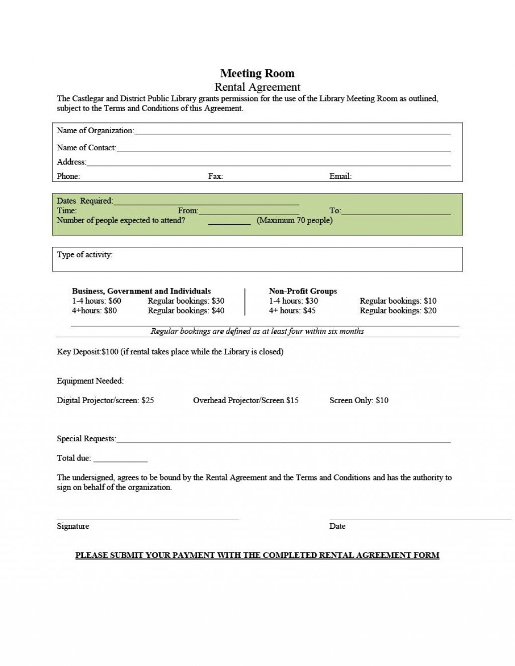 006 Stupendou Generic Room Rental Agreement Free Inspiration  PrintableLarge