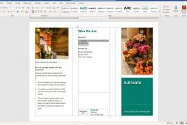 006 Stupendou M Word Tri Fold Brochure Template Picture  Microsoft Free Download