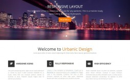006 Stupendou One Page Website Template Html5 Responsive Free Download Sample