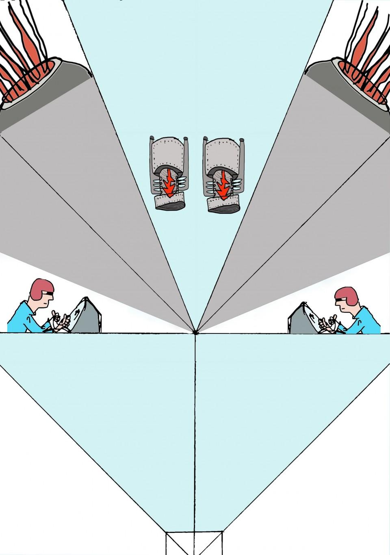006 Stupendou Printable Paper Airplane Folding Instruction Sample 960