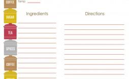 006 Stupendou Recipe Book Template Word High Resolution  Mac Free Microsoft