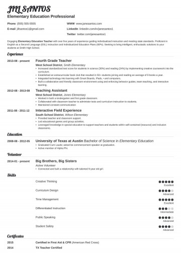 006 Stupendou Resume Template For Teacher Highest Quality  Australia Microsoft Word Sample360