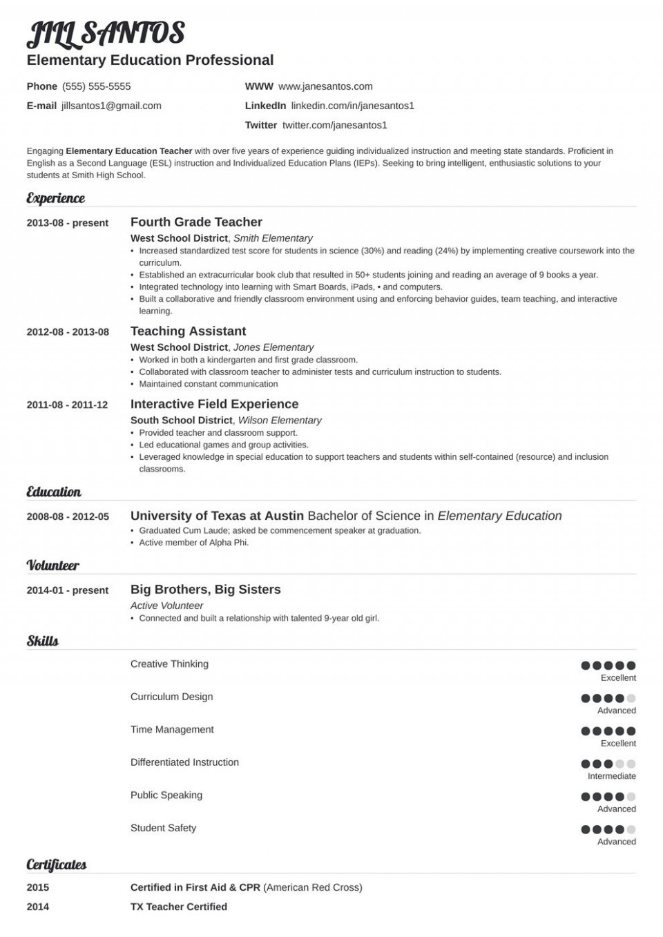 006 Stupendou Resume Template For Teacher Highest Quality  Free Download Australia Microsoft Word 2007960