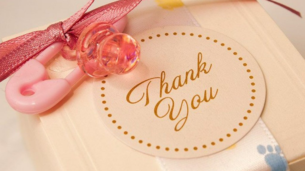 006 Stupendou Thank You Card Wording For Baby Shower Group Gift Picture Large