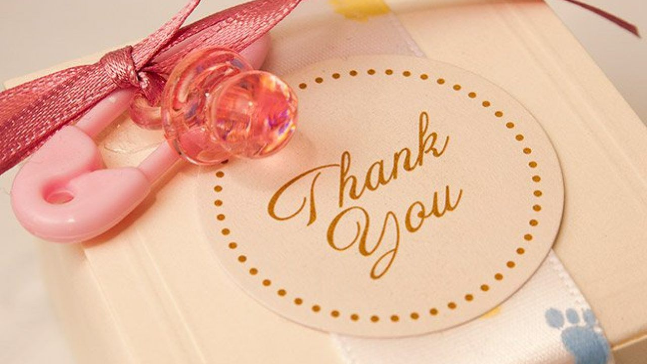 006 Stupendou Thank You Card Wording For Baby Shower Group Gift Picture Full