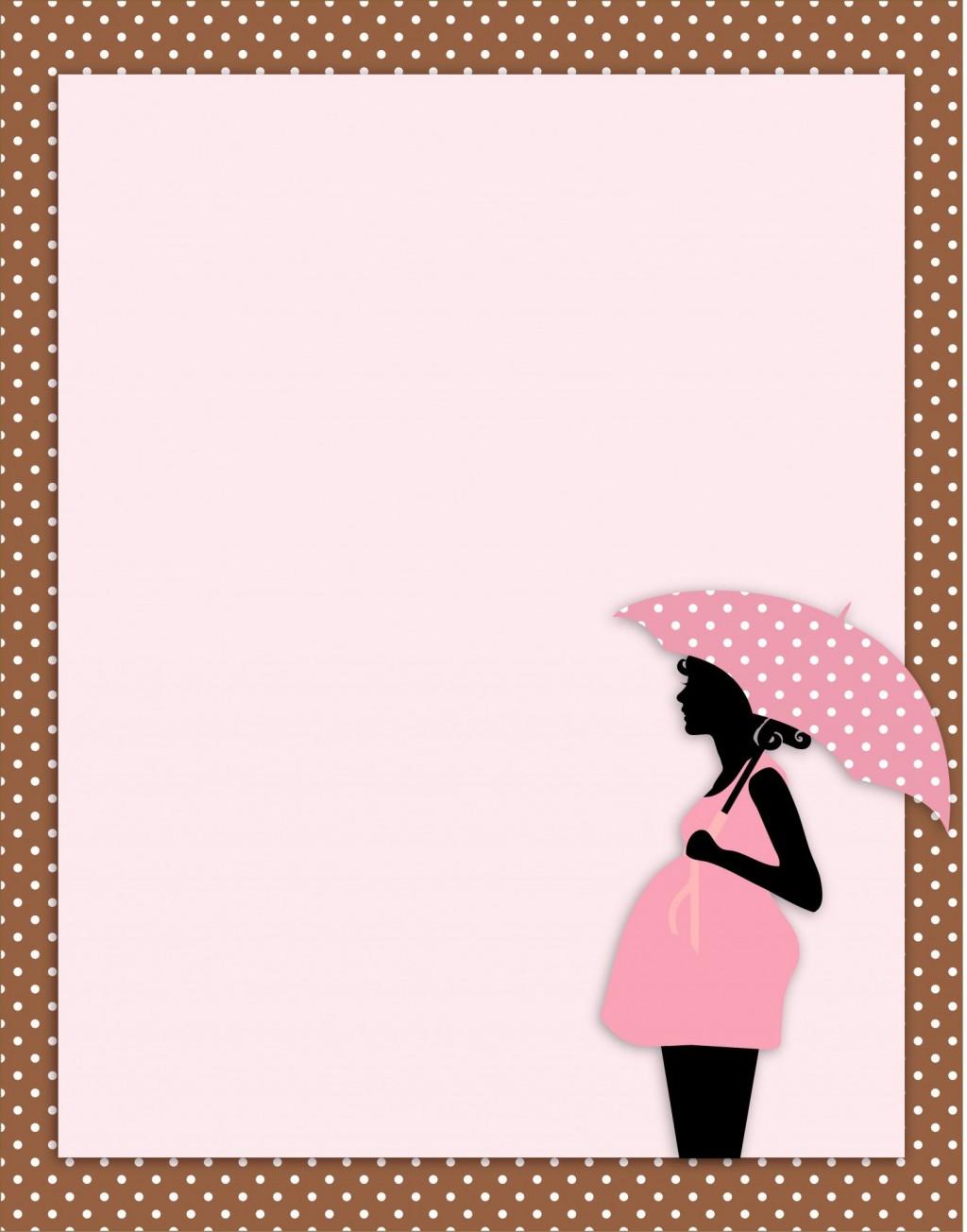 006 Surprising Baby Shower Card Template Photo  Microsoft Word Invitation Design Online Printable FreeLarge