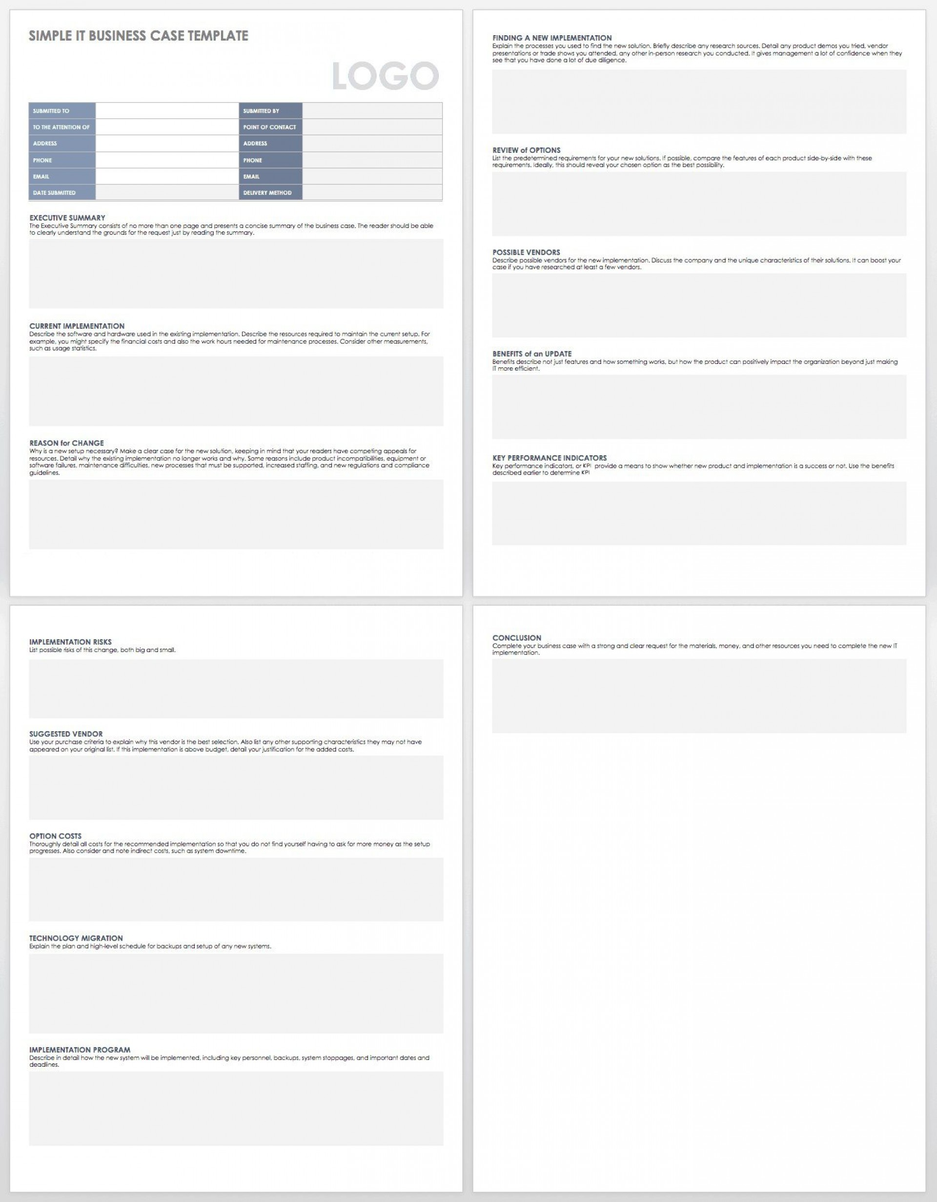 006 Surprising Busines Case Study Template Image  One Page Download Ppt1920