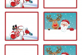 006 Surprising Christma Label Template Word Photo  How To Make In Microsoft Return Addres
