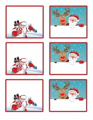006 Surprising Christma Label Template Word Photo  How To Make In Microsoft Return Addres360