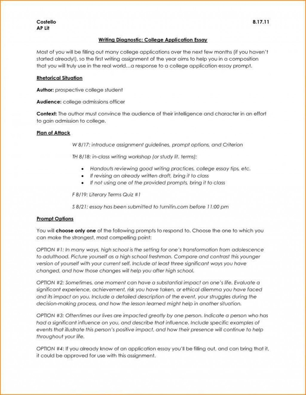 006 Surprising College Application Essay Outline Example Idea  Admission Format Heading Narrative TemplateLarge