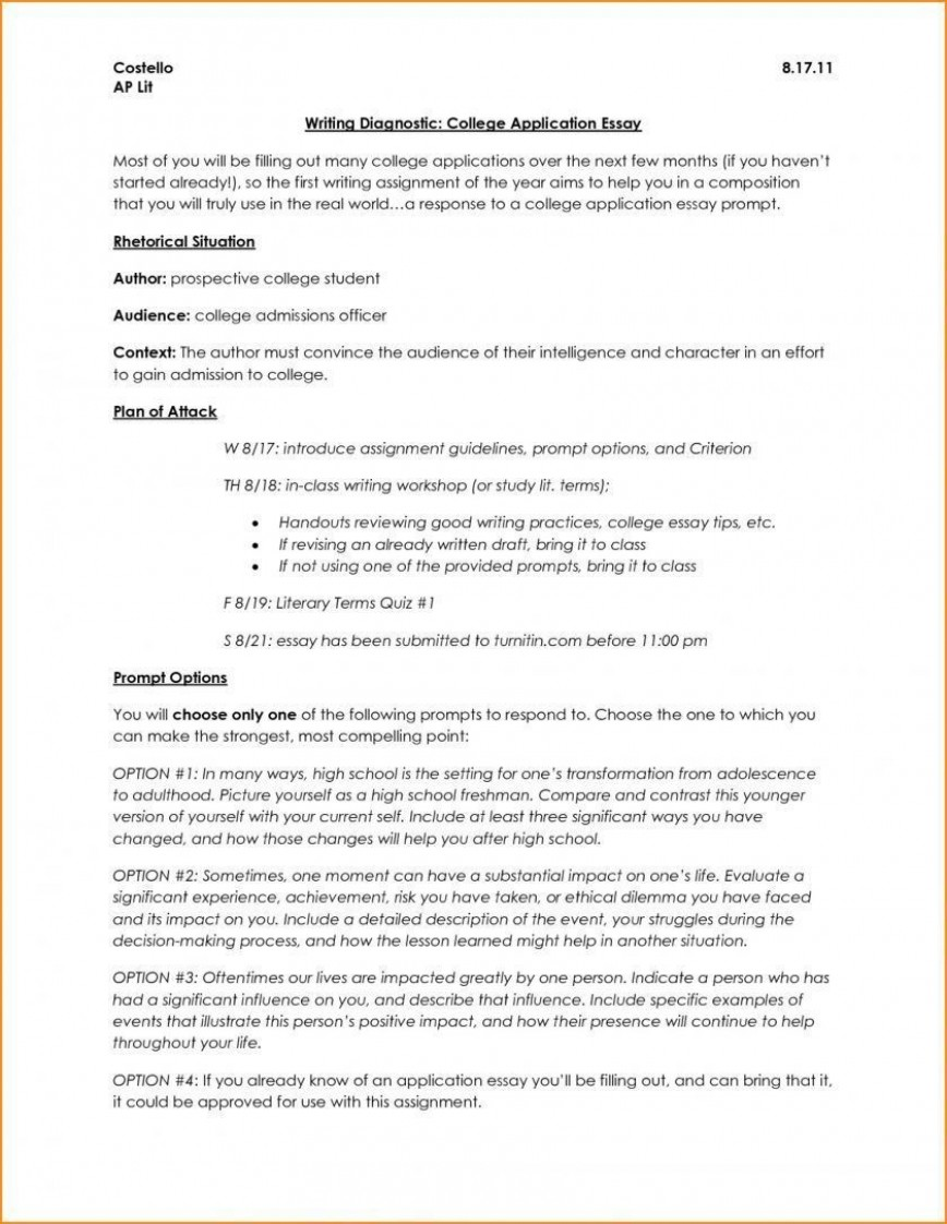 006 Surprising College Application Essay Outline Example Idea  Admission Format Heading Narrative Template868