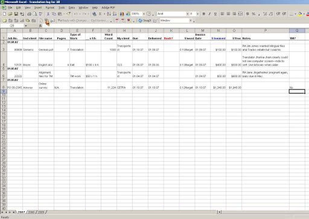 006 Surprising Excel Work Order Tracking Template High Def  Construction MicrosoftLarge