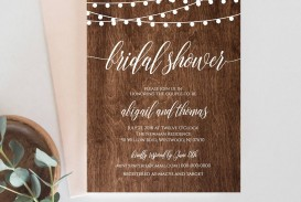006 Surprising Free Couple Shower Invitation Template Download Sample