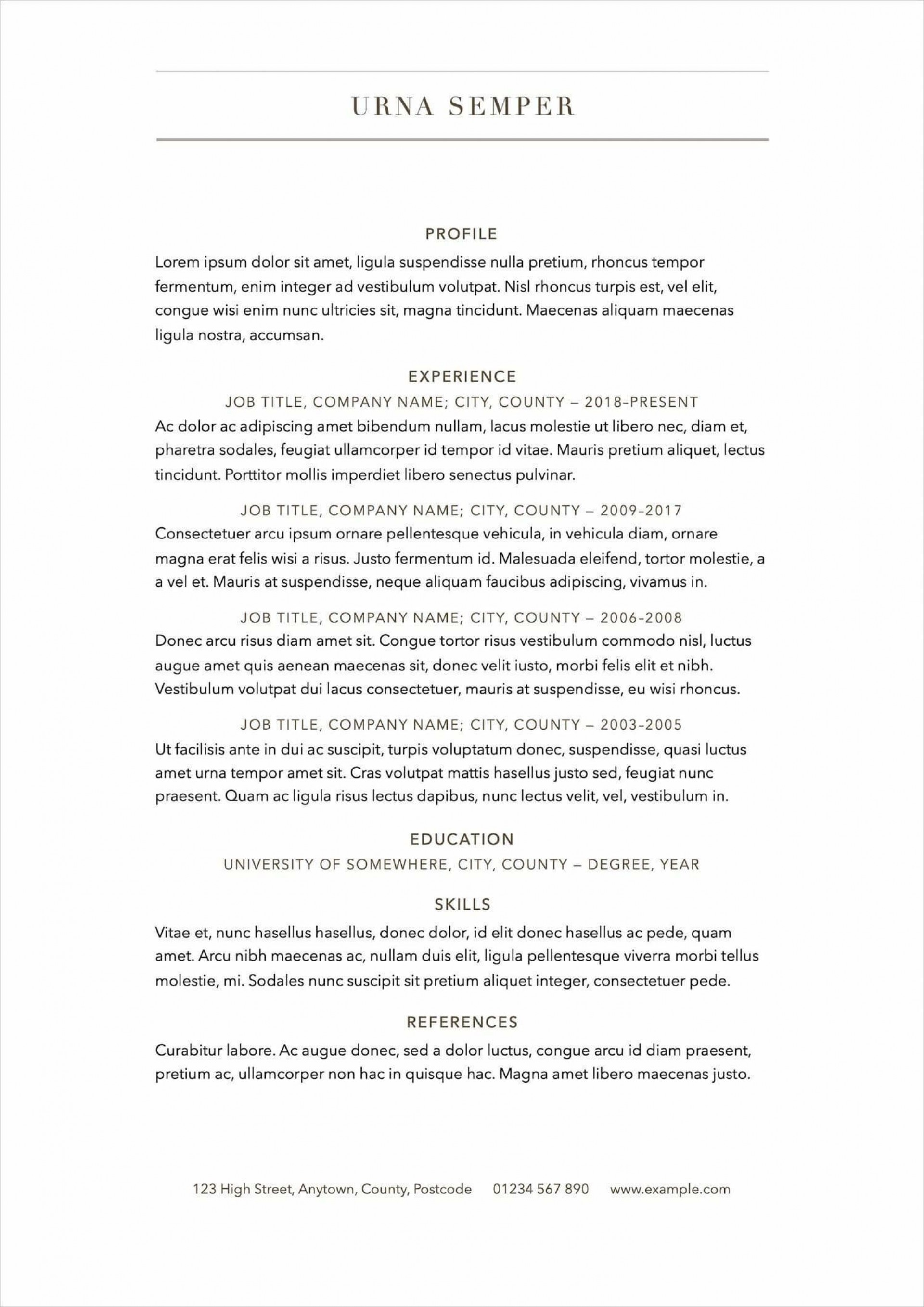 006 Surprising Free Printable Resume Template 2018 High Definition 1920