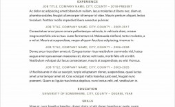 006 Surprising Free Printable Resume Template 2018 High Definition