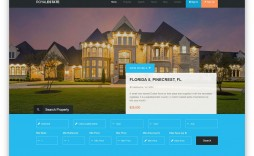 006 Surprising Free Real Estate Template High Def  Templates Website Html5 Flyer For Mac Psd