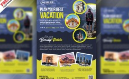 006 Surprising Free Travel Flyer Template Download Example