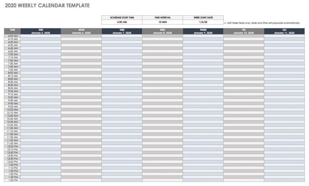 006 Surprising Google Doc Calendar Template 2020 Highest Clarity  Drive Sheet WeeklyLarge