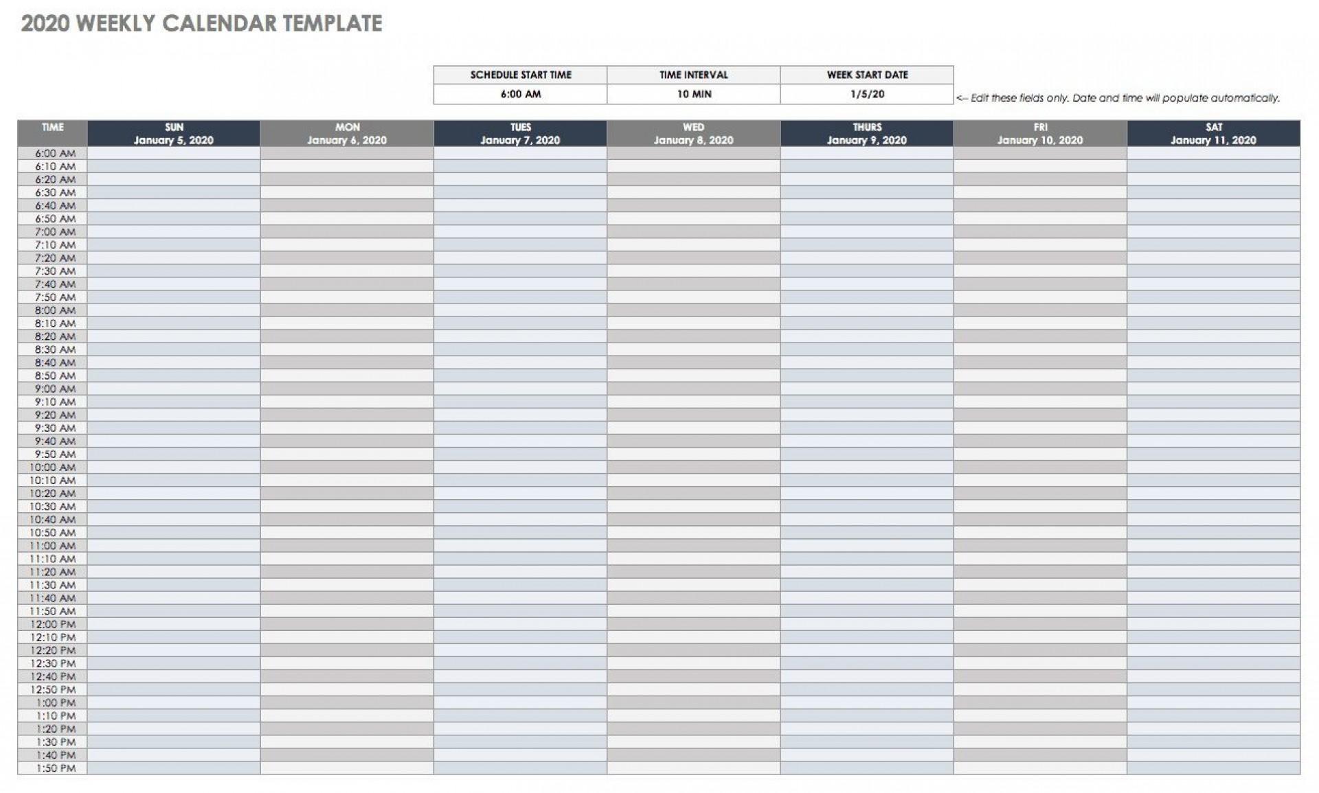 006 Surprising Google Doc Calendar Template 2020 Highest Clarity  Drive Sheet Weekly1920