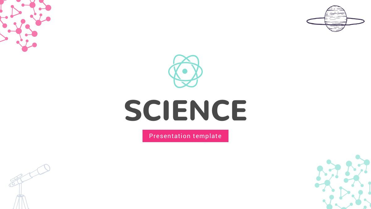 006 Surprising Google Slide Template Science High Resolution