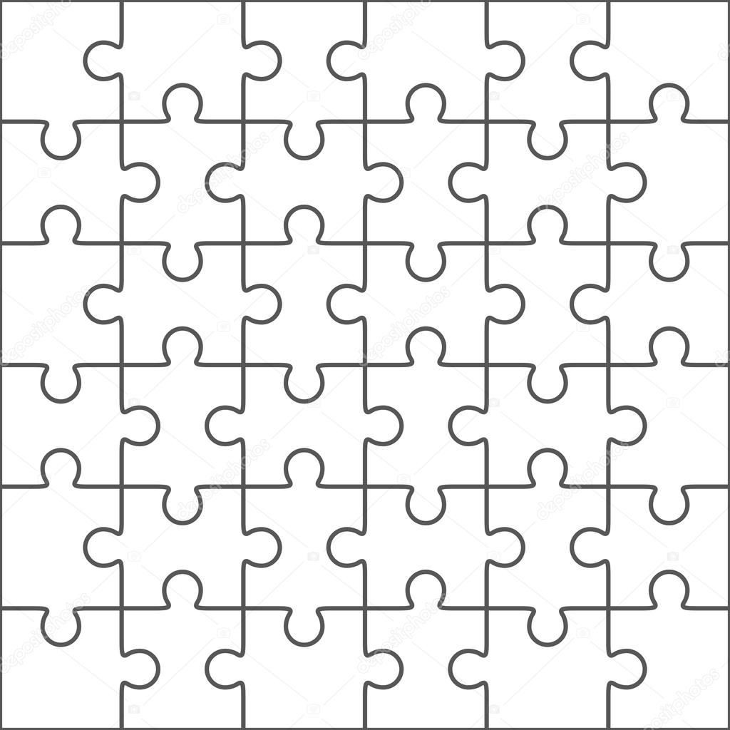 006 Surprising Jig Saw Puzzle Template Highest Clarity  Printable Blank Jigsaw Vector Free PngLarge