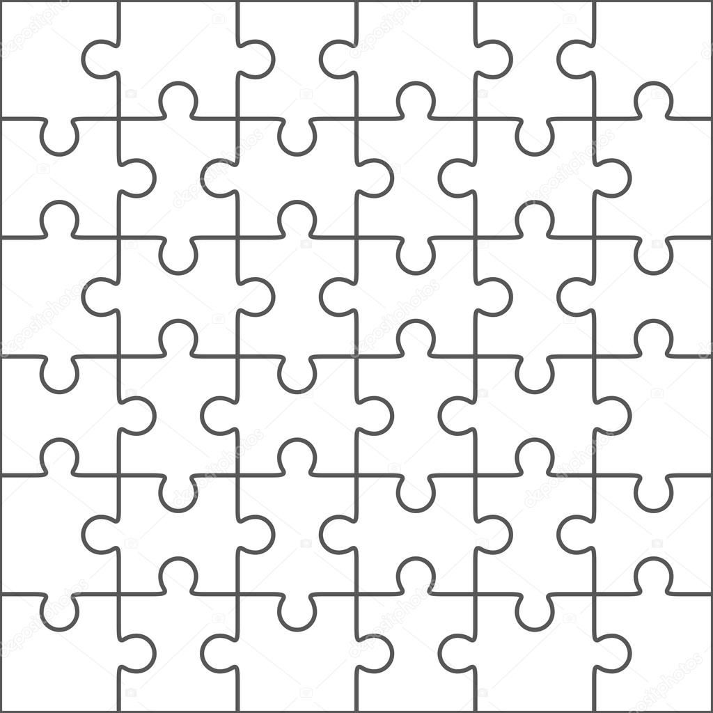 006 Surprising Jig Saw Puzzle Template Highest Clarity  Printable Blank Jigsaw Vector Free PngFull