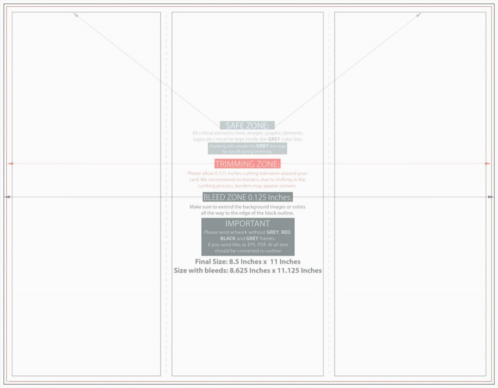 006 Surprising Quarter Fold Card Template Word Blank High Resolution Large