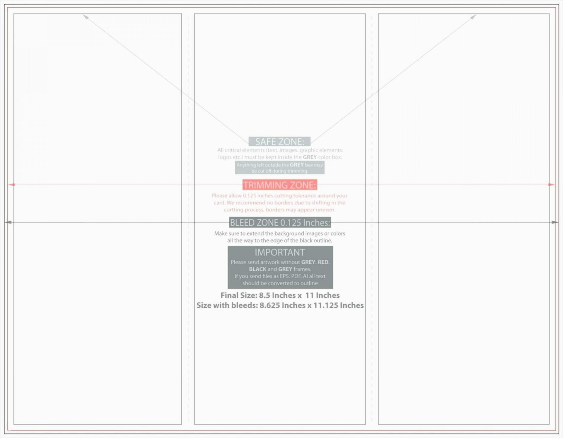 006 Surprising Quarter Fold Card Template Word Blank High Resolution 1920