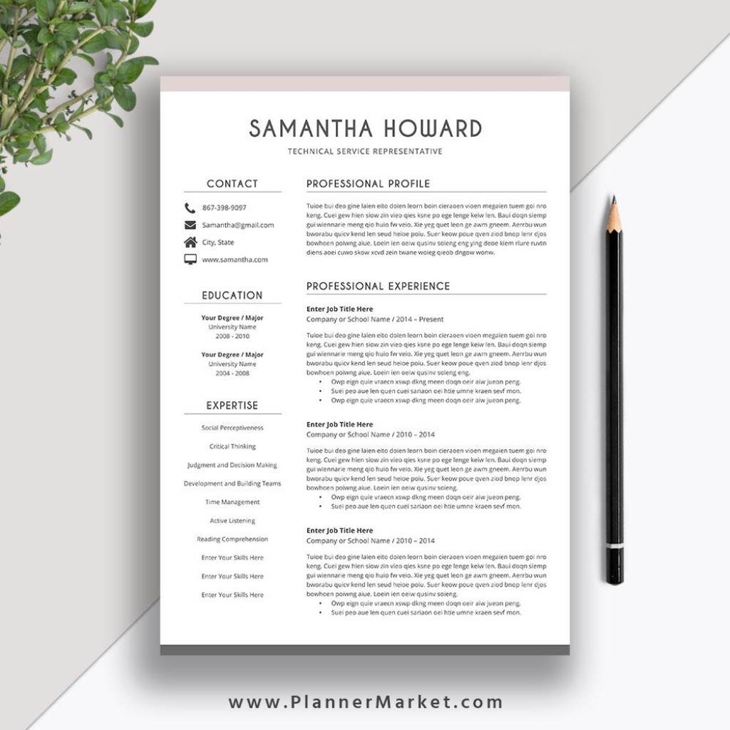 006 Surprising Resume Template Microsoft Word 2007 Image  In Office MLarge