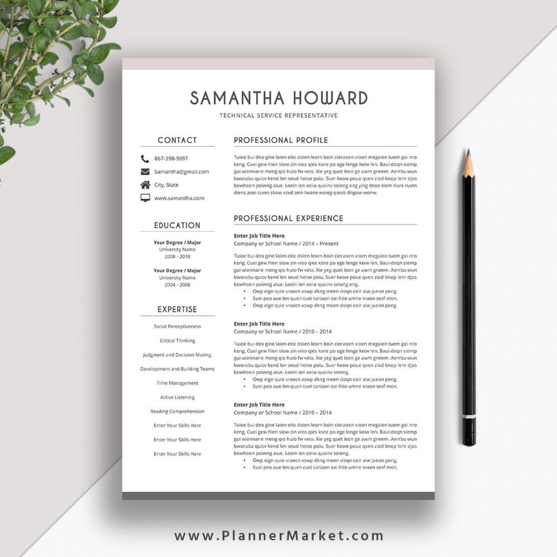 006 Surprising Resume Template Microsoft Word 2007 Image  In Office M1920