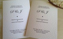 006 Surprising Traditional Wedding Order Of Service Template Uk Concept