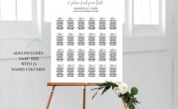 006 Surprising Wedding Seating Chart Template Image  Templates Plan Excel Word Microsoft