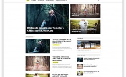 006 Top Best Free Responsive Blogger Template 2019 Inspiration