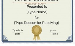 006 Top Blank Award Certificate Template Image  Printable Math Editable Free