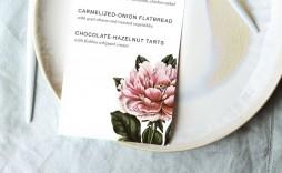 006 Top Dinner Party Menu Template Design  Word Elegant Free Google Doc