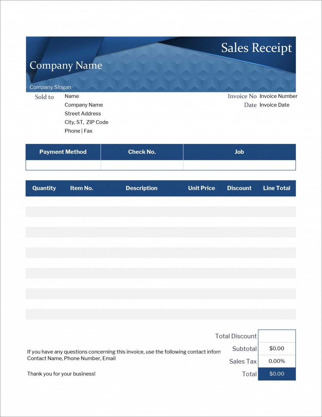 006 Top Excel Receipt Template Download Inspiration  Format Microsoft Delivery FreeLarge
