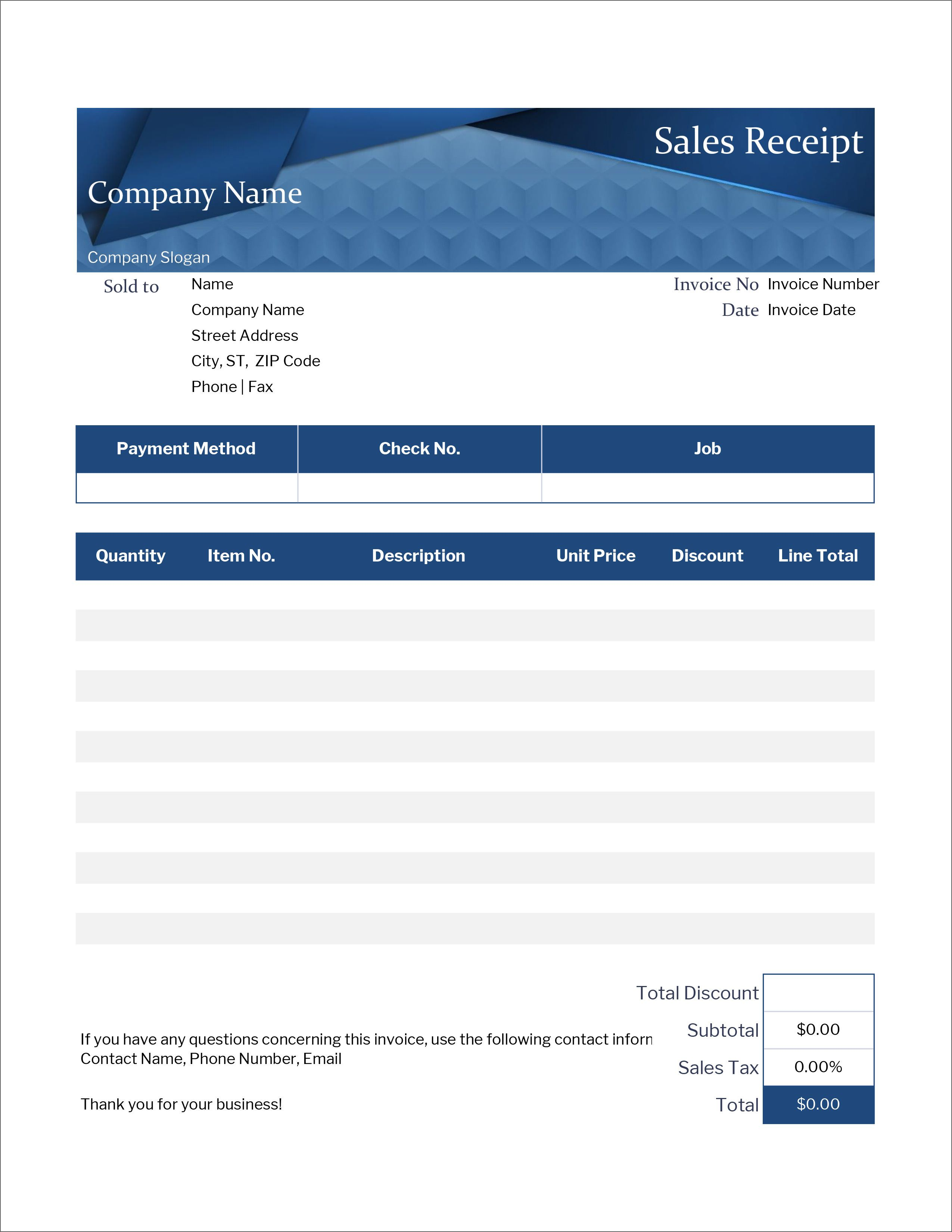 006 Top Excel Receipt Template Download Inspiration  Format Microsoft Delivery FreeFull
